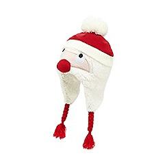 bluezoo - White Santa beanie