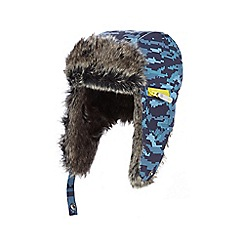 Baker by Ted Baker - Boys' blue camouflage trapper hat
