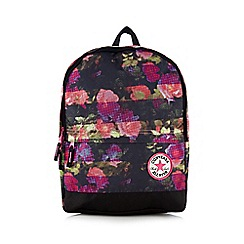 Converse - Girls' pink floral backpack