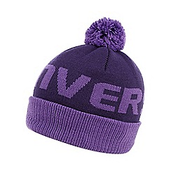 Converse - Girl's purple logo bobble hat