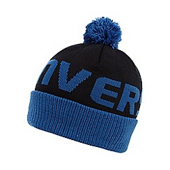 Converse - Boy's blue logo bobble hat
