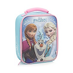 Disney Frozen - Girl's blue 'Frozen' lunch bag