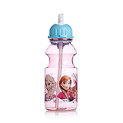Disney Frozen - Girl's pink 'Frozen' water bottle