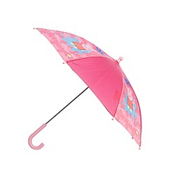 Peppa Pig - Girl's pink 'Peppa Pig' umbrella
