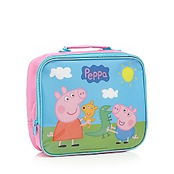 Peppa Pig - Girl's pink 'Peppa Pig' lunch bag