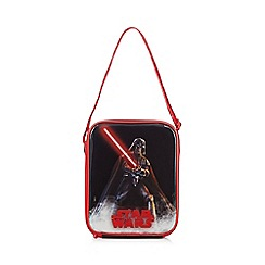 Star Wars - Boy's black 'Star Wars' lunch bag