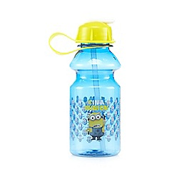 Despicable Me - Blue '1 in a Minion' water bottle