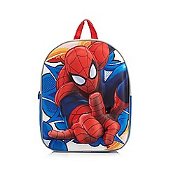 Spider-man - Children's red 3D 'Spider-man' backpack
