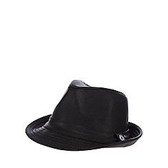 RJR.John Rocha - Boys' black woven trilby hat