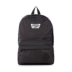 Vans - Boy's black logo backpack