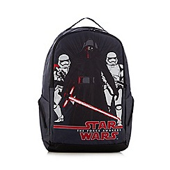 Star Wars - Boys' black 'The Force Awakens' backpack