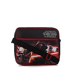 Star Wars - Boys' black 'The Force Awakens' messenger bag