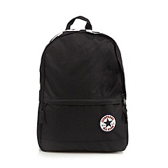 Converse - Black 'All Star' logo backpack