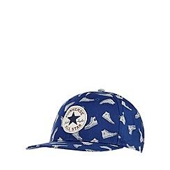 Converse - Blue trainer print cap