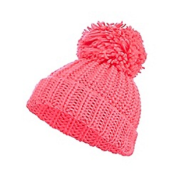 bluezoo - bluezoo Pink pom beanie hat
