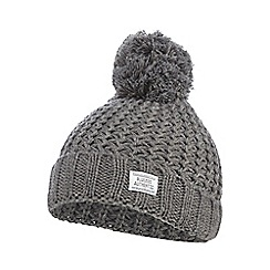 bluezoo - Grey pom pom beanie ha