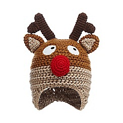 bluezoo - Blueezoo singing reindeer trapper hat