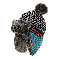 Baker by Ted Baker - Boys' multi-coloured Fairisle trapper hat