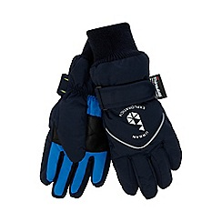 Baker by Ted Baker - Boys' blue 'Thinsulate' gloves