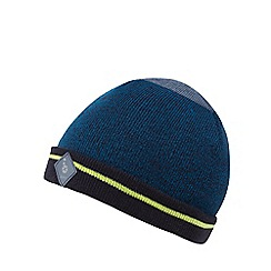 Baker by Ted Baker - Boy's knitted block panel beanie