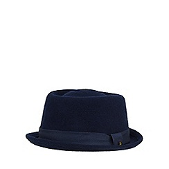 Baker by Ted Baker - Boys' navy wool pork pie hat