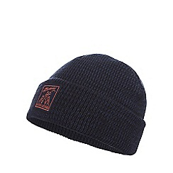 Mantaray - Boys' blue marl beanie hat
