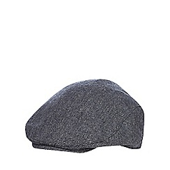 J by Jasper Conran - Boys' navy flat cap with wool