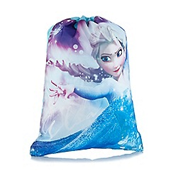 Disney Frozen - Blue 'Frozen' print trainer bag