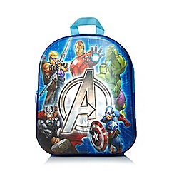 Marvel - Boys' blue 'Avengers' backpack