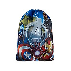 Marvel - Blue 'Avengers' print trainer bag