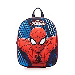 Spider-man - Red 'Spider-Man' embossed backpack