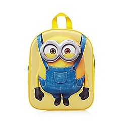 Despicable Me - Yellow 'Minion' embossed backpack