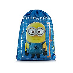 Despicable Me - Blue 'Minions' print trainer bag