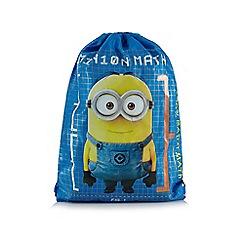 Despicable Me - Blue 'Minions' print trainer bag