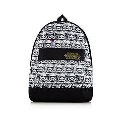 Star Wars - Black 'Star Wars' 'Stormtrooper' print backpack