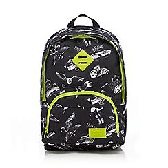 Animal - Boys' black printed backpack