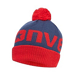 Converse - Boys' red logo beanie hat