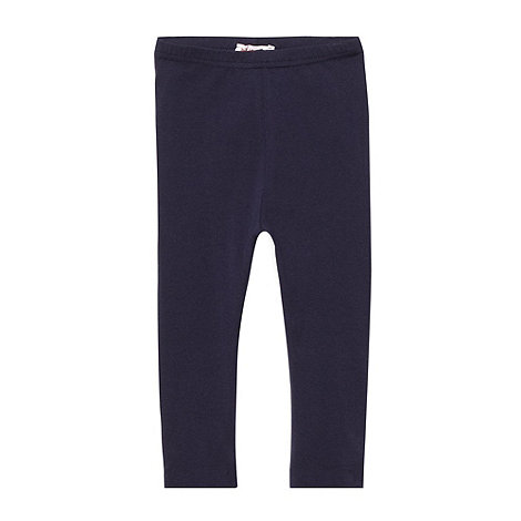 bluezoo - Girl+s navy leggings
