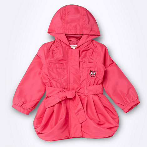 bluezoo - Girl+s bright pink lightweight parka coat