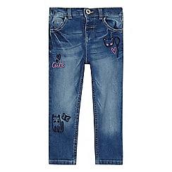 bluezoo - Girls' blue light wash jeans