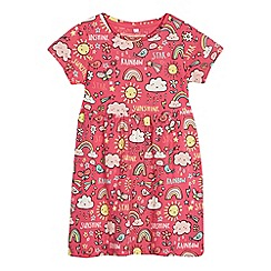 bluezoo - Girls' pink weather print dress
