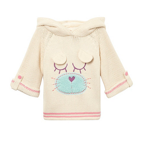bluezoo - Girl+s cream animal jumper