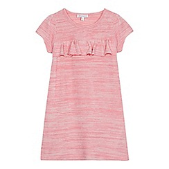 bluezoo - Girls' pink ruffled dress