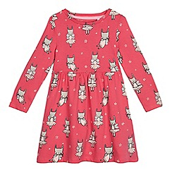 bluezoo - Girls' pink bunny fairy dress