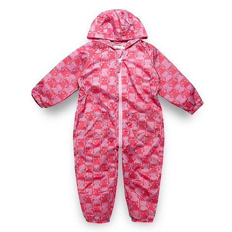 bluezoo - Girl+s pink cat puddle suit