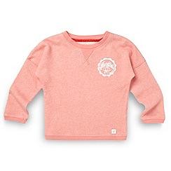 Mantaray - Girl's coral logo jumper