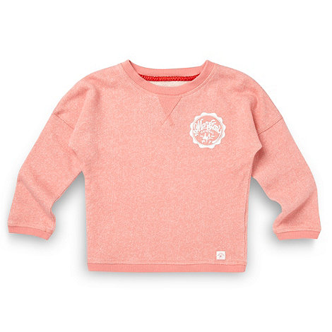 Mantaray - Girl+s coral logo jumper