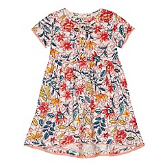Mantaray - Girls' multicoloured floral print dress