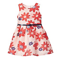 J by Jasper Conran - Girls' red floral print dress