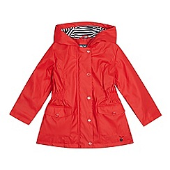 J by Jasper Conran - Girls' red fisherman coat